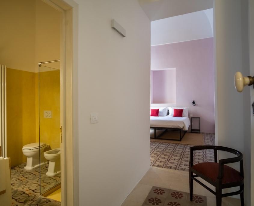 """Camera """"Glicine"""" con bagno en suite"""